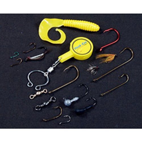 Hook eze fishing tool pink 1 twin pack hook tieing for Hook eze fishing tool