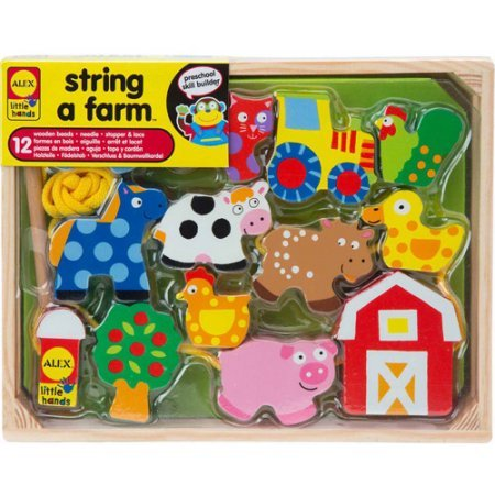 Little Hands String A Farm Model# 0A1486F by ALEX Toys