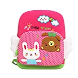 2 6 Year Old Baby Girls Boys Cartoon Preschool Backpack Kids Cute Shoulder Bags Outdoor Travel Food Bag Children School Book Bag Kid Gift Pink L