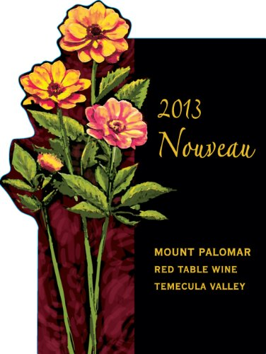 2013 Mount Palomar Nouveau Red Blend 750 Ml