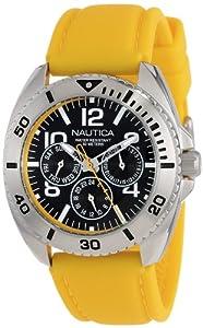 Nautica Men's N11608G Sport Ring Box Set Classic Analog Multi-Function Watch