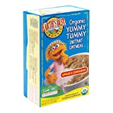 Earth's Best Organic Yummy Tummy Instant Oatmeal, Apple Cinnamon, 10-Count 15.1-Ounce Boxes (Pack of 6)