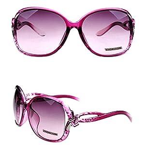 xhorizon TM Vintage Oversized Frame Quality Fashion Oversized Sunglasses UV400 CY