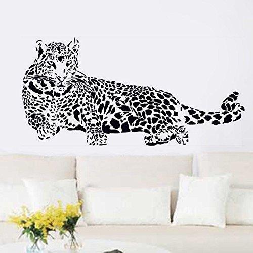 Denoda leopard wandsticker wandsticker wanddekoration - Wandsticker graffiti ...