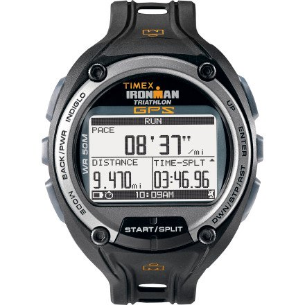 Cheap Timex Ironman Global Trainer With GPS Watch – Speed + Distance One Color, One Size (B005L2HOME)