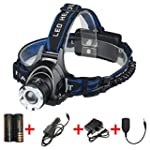LED Headlamp with Rechargeable Batter...