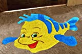 AVIRA HOME 1300 GSM NEMO FISH MAT-KIDS ROOM MAT-BATHMAT-DOOR MAT-100% COTTON-MULTICOLOR