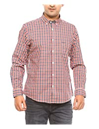 Pepe Men's Slim Fit Cotton Shirt