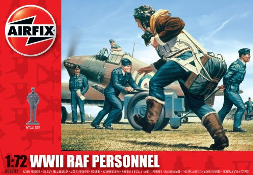 Airfix A01747 1:72 Scale RAF Personnel