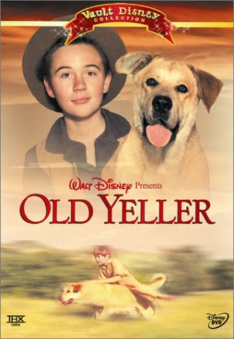 Cover art for  Old Yeller (Vault Disney Collection)