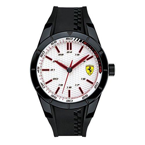 Ferrari De los hombres RED REV EVO Analógico Casual Cuarzo Reloj 0830300