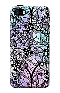 Apple iPhone 5s Case KanvasCases Premium Designer 3D Printed Hard Back Cover