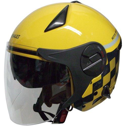 ルノー Wシールドジェットヘルメット イエロー RN999W-YE イエロー