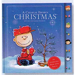Hallmark Promotions LPR7506 A Charlie Brown Christmas (An Interactive Book with Sound)