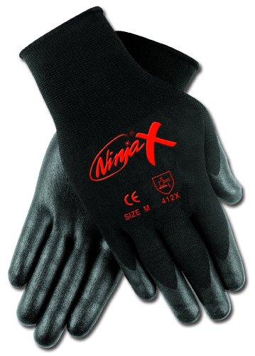 Memphis CN9674XL Bi-Polymer Dipped, Nylon Shell Ninja X High Performance Gloves, Xlarge