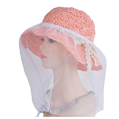 elastic-insectes-head-net-mesh-masque-anti-mosquito-bug-bee-blanc