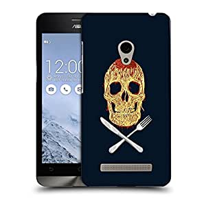 Snoogg Skully Noodles Designer Protective Back Case Cover For ASUS ZENFONE 6