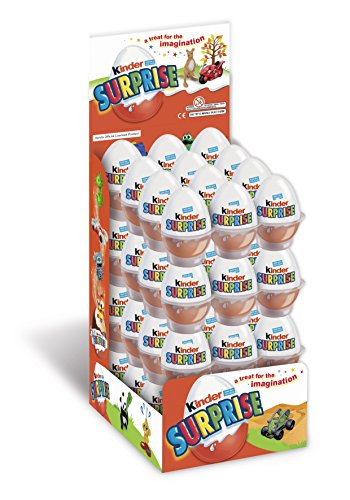 Kinder Surprise Egg 20 g (Pack of 48)