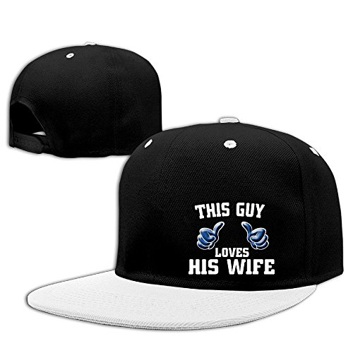 Texhood I Love My Wife Geek Trucker Hat One Size White (Pandora Charms Beer Mug compare prices)