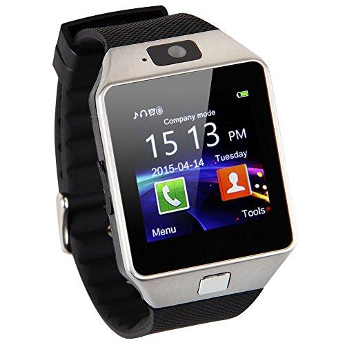 Hannspree Sw1Bsc1B Prime Smartwatch Bluetooth Mikro Sim Karte Musikplayer Pedometer Herzraten Monitoring