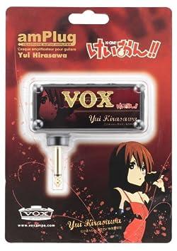 VOX ヴォックス ヘッドフォンアンプ けいおん!! amPlug 第3弾 平沢唯モデル AMPLUG YUI HIRASAWA BK 黒