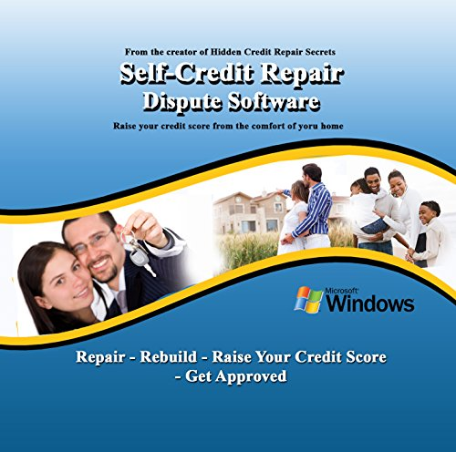 Credit Repair Software: Self-Credit Repair Dispute Software From the Creator of Hidden Credit Repair Secrets (Credit Software compare prices)