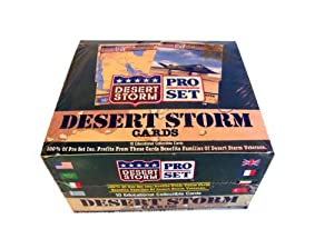 Pro Set Desert Storm Trading Cards Box