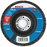 Bosch FD29450120 Type 29 120-Grit Flap Disc, 4-1/2-Inch 7/8-Inch Arbor, 10-Pack