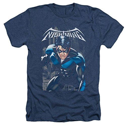 Batman Nightwing: A Legacy Heather T-Shirt