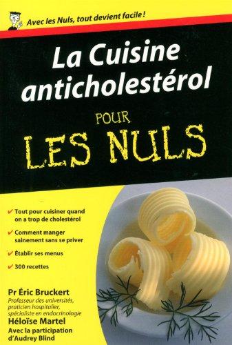 La cuisine anticholesterol pour les nuls first francais for Cuisine pour les nuls