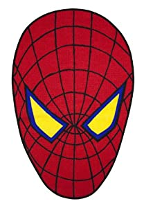 Character World The Amazing Spider-man Movie Shaped Rug