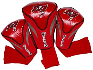 NFL Tampa Bay Buccaneers 3 Pack Contour Fit Headcover by Team Golf
