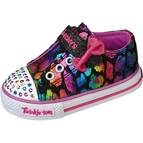 Skechers Kids' Dazzlin Girl Inf/Tod (Black/Purple 8.0 M) front-359251