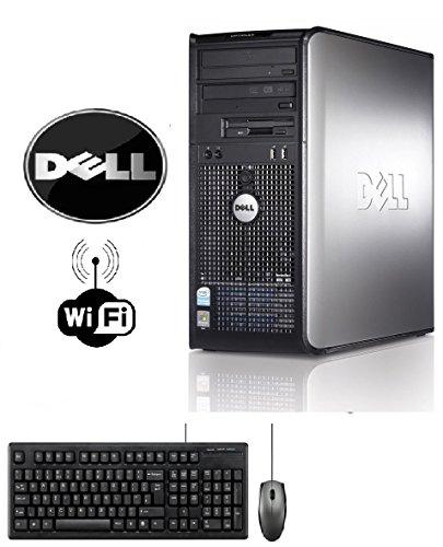 Dell Optiplex 745 Tower PENTIUM DUAL CORE 3.4GHZ 4GB 250GB HDD Windows 7 PRO 64 BIT WIFI, DVD-BURNER