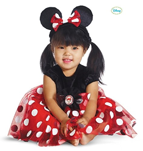 Infant Red Minnie Mouse Halloween Costume Size:6-12 Months