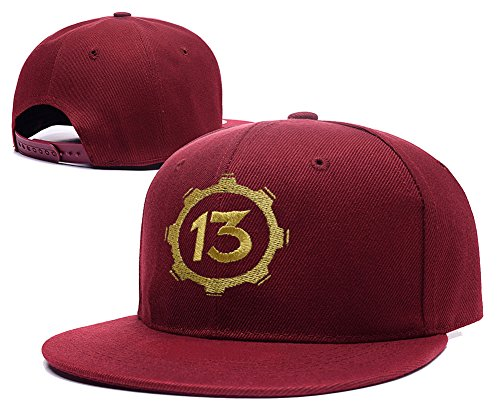 DONGF Caps - Cappellino da baseball - Uomo Red Hat Taglia unica