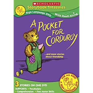 Scholastic A Pocket for Corduroy Sign Language DVD