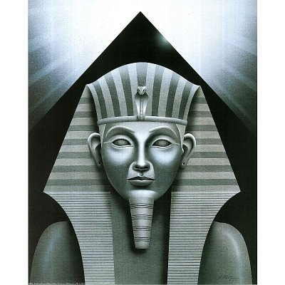 A. Metz (Sphinx and Pyramid) Art Print Poster - 13x19