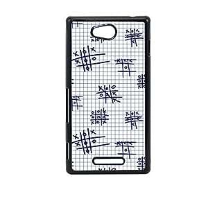 Vibhar printed case back cover for Sony Xperia C ZeroKatta