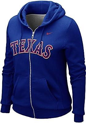 Nike Women's Texas Rangers MLB Classic Full Zip Hoodie Sweater