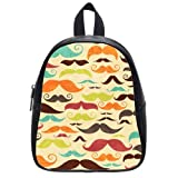 New Arrival--Superb Mustache Cute School Bag Backpack for Kids Children