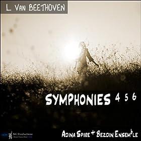 Beethoven Symphonies 4 5 6