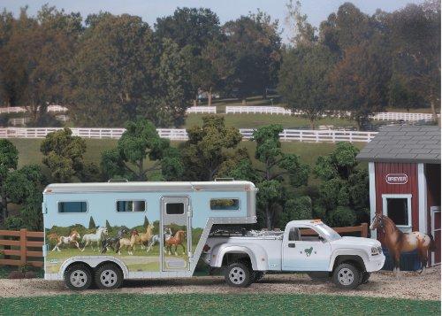 Breyer Stablemates Pick - Up Truck and Gooseneck Trailer