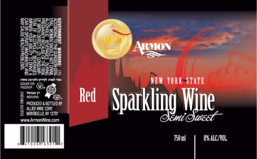 Armon NV  New York Red Sparkling 750 mL