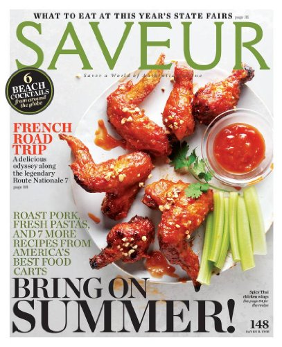Saveur Magazine Cover Roast Pork, Fresh Pastas, And 7 More Recipes from america's best food carts