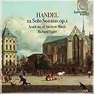 Handel: 12 Solo Sonatas Op. 1