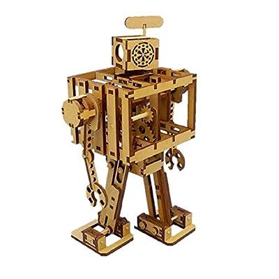 ゴム動力二足歩行 木製組み立てキット ボードボット 1 号機 SS-002