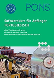 PONS Softwaresprachkurs für Anfänger Portugiesisch