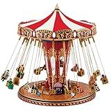 Gold Label World's Fair Swing Carousel Music Box