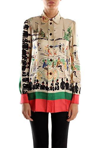 650820AJ30MLC01-Cline-Chemises-Femme-Soie-Multicouleur